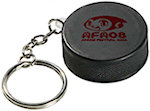 Hockey Puck Keyring Stress Balls
